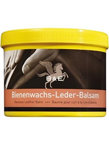 B & E Bienenwachs-Lederpflege-Balsam - 500 ml - 1