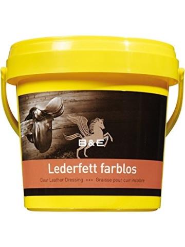 B & E Lederfett farblos, 100 ml - 1