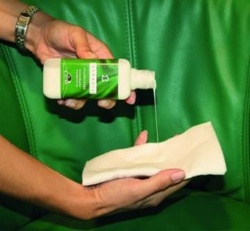 KERAGIL Lederpflege und -reinigungs Set, je 150 ml Reiniger und Pflegecreme - 5