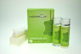 KERALUX Lederpflege-Set P für pigmentierte Leder, 2 x 200 ml Inhalt - 1